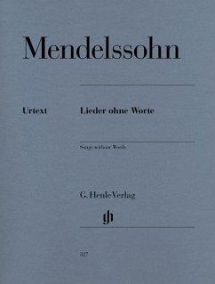 Lieder ohne Worte op.109, Klavier