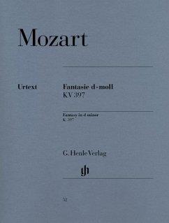 Fantasie d-moll KV 397 (385g) - Mozart, Wolfgang Amadeus - Fantasie d-moll KV 397 (385g)
