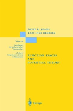 Function Spaces and Potential Theory - Adams, David R.; Hedberg, Lars I.