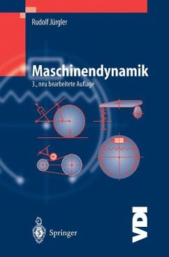 Maschinendynamik - Jürgler, Rudolf
