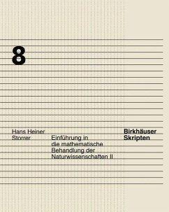 Einführung in die mathematische Behandlung der Naturwissenschaften II - Storrer, Hans H.