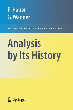 Analysis by Its History - Hairer, Ernst; Wanner, Gerhard
