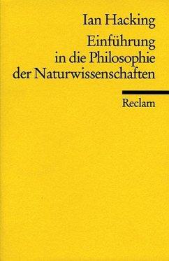 Einführung in die Philosophie der Naturwissenschaften - Hacking, Ian
