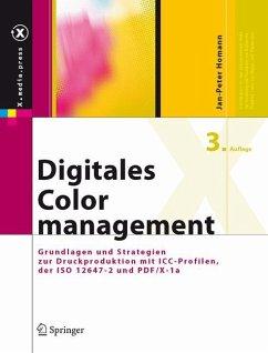 Digitales Colormanagement - Homann, Jan-Peter