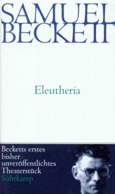 Eleutheria - Beckett, Samuel