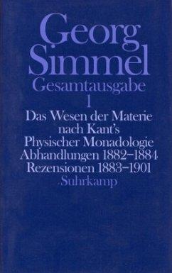 Das Wesen der Materie nach Kant's Physischer Monadologie - Simmel, Georg
