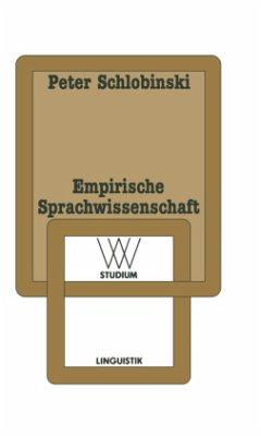 Empirische Sprachwissenschaft - Schlobinski, Peter