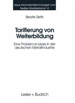 Tarifierung von Weiterbildung - Seitz, Beate