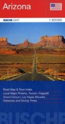 Busche Map Arizona