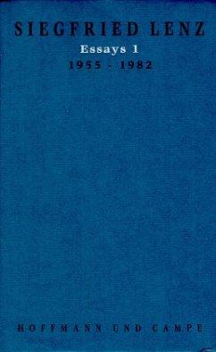 Essays / Werkausgabe in Einzelbänden Bd.19, Tl.1 - Lenz, Siegfried