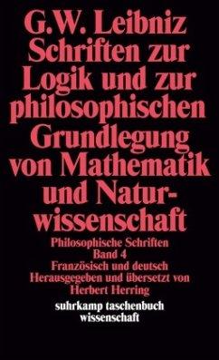 Schriften zur Logik und zur philosophischen Gru...