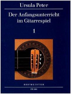 Der Anfangsunterricht im Gitarrespiel