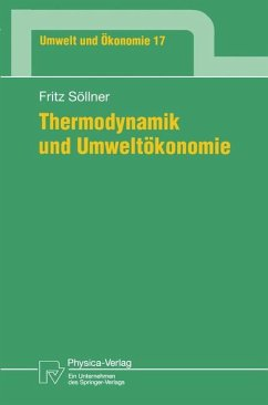 Thermodynamik und Umweltökonomie - Söllner, Fritz
