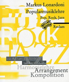 Popularmusiklehre - Pop, Rock, Jazz, m. CD-Audio