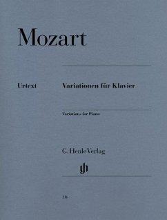 Variationen für Klavier - Mozart, Wolfgang Amadeus - Variationen für Klavier