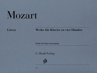 Werke. Klavier zu 4 Händen - Amadeus Mozart, Wolfgang