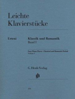 Leichte Klavierstücke des klassischen und romantischen Zeitalters