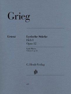 Lyrische Stücke Heft 1 op.12, Klavier