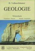 Geologie Wörterbuch, Französisch-Deutsch/Deutsch-Französisch