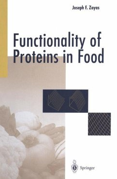 Functionality of Proteins in Food - Zayas, Joseph F.