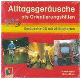 Alltagsgeräusche als Orientierungshilfe, 1 Geräusche-Audio-CD mit 28 Bildkarten