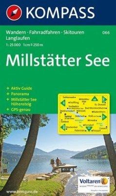 Kompass Karte Millstätter See