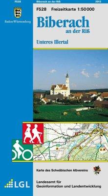 Topographische Freizeitkarte Baden-Württemberg ...