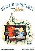 Pädagogisches Begleitheft / Klavierspielen mit der Maus Zu Bd.1