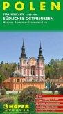 Höfer Straßenkarte Polen, Südliches Ostpreußen