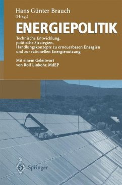 Energiepolitik - Brauch, Hans G. (Hrsg.)