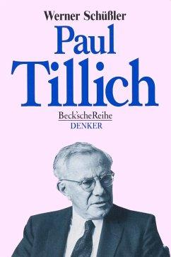 Paul Tillich - Schüßler, Werner