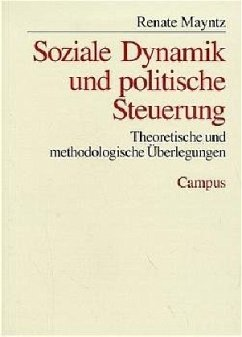 Soziale Dynamik und politische Steuerung - Mayntz, Renate