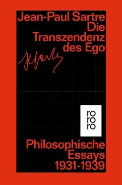 Die Transzendenz des Ego - Sartre, Jean-Paul