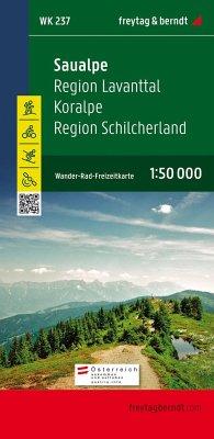 Freytag & Berndt Wander-, Rad- und Freizeitkarte Saualpe, Region Lavanttal, Koralpe, Region Schilcherland