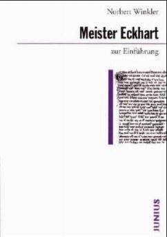 Meister Eckhart zur Einführung - Winkler, Norbert