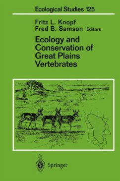 Ecology and Conservation of Great Plains Vertebrates - Knopf, Fritz L. / Samson, Fred B. (eds.)