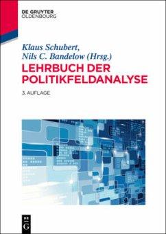 Lehrbuch der Politikfeldanalyse - Schubert, Klaus; Bandelow, Nils C.