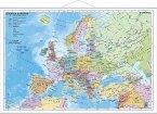 Stiefel Wandkarte Kleinformat Staaten Europas, mit Metallstäben
