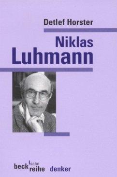 Niklas Luhmann - Horster, Detlef