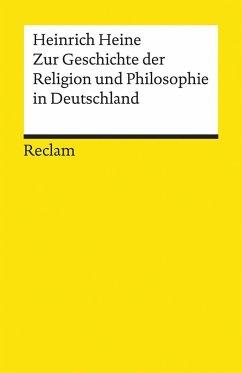 Zur Geschichte der Religion und Philosophie in Deutschland - Heine, Heinrich
