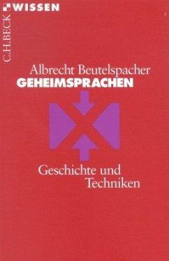 Geheimsprachen - Beutelspacher, Albrecht