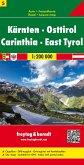 Freytag & Berndt Autokarte Kärnten - Osttirol; Carinthia - East Tyrol; Carinzia - Tirolo Orientale; Carinthie - Tirolo O