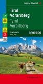 Freytag & Berndt Autokarte Tirol, Vorarlberg; Tyrol, Vorarlberg / Tyrolo, Vorarlberg