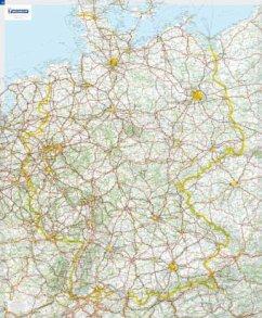 Michelin Karte Deutschland, Planokarte