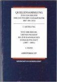 Quellensammlung zur Geschichte der deutschen Sozialpolitik 1867-1914 / Von der kaiserlichen Sozialbotschaft bis zu den Februarerlassen Wilhelms II (1881-1890) / Grundfragen der Sozialpolitik