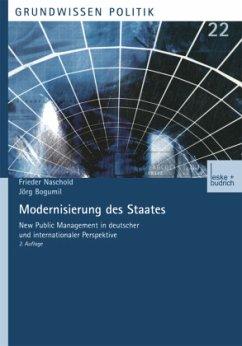 Modernisierung des Staates - Naschold, Frieder;Bogumil, Jörg