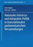 Nationales Interesse und integrative Politik in transnationalen parlamentarischen Versammlungen