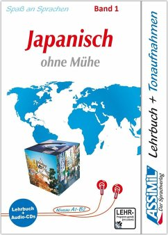 Assimil. Japanisch ohne Mühe 1. Multimedia-Classic. Lehrbuch und 3 Audio-CDs - Garnier, Catherine; Toshiko, Mori