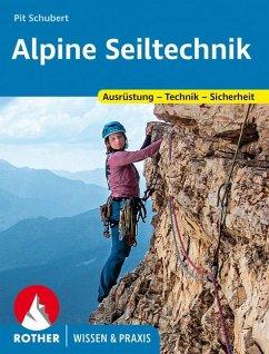 Alpine Seiltechnik - Schubert, Pit