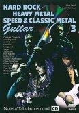 Hard Rock, Heavy Metal, Speed und Classic Metal Guitar, m. Audio-CD